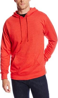 Soffe Men's French Terry Hoodie Sweatshirt Black Small