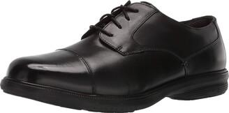 Nunn Bush Men Maretto Cap Toe Oxford with KORE Slip-Resistant Comfort Technology