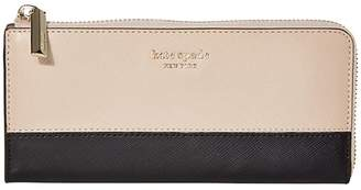 Kate Spade Spencer Large Zip Wallet