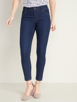 Old Navy Mid-Rise Dark-Wash Super Skinny Ankle Jeans for Women