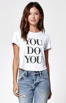 La Hearts You Do You Rolled Short Sleeve Skimmer T-Shirt