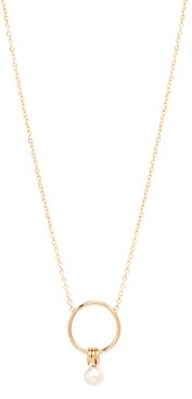 Zoë Chicco 14K Yellow White Pearl Collection Cultured Freshwater Pearl Pendant Necklace, 16-18