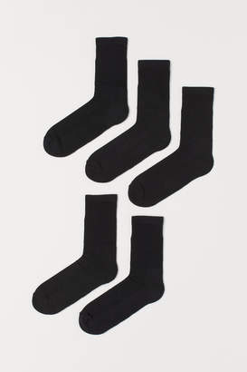 H&M 5-pack Socks - Black