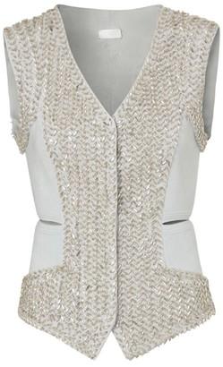 Burberry Crystal-Embellished Waistcoat