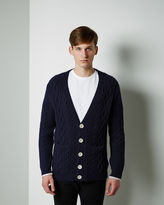 Band Of Outsiders Cable Knit Cardigan