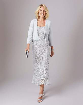 Julipa Stretch Lace Dress and Shrug