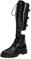 Valentino Garavani Soul Rockstud Split Knee-High Boot