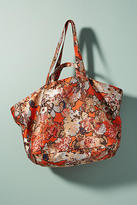 Anthropologie Floral Brocade Tote