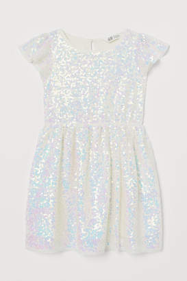 H&M Tulle Dress with Sequins