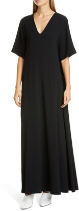 Co Essentials Crepe Maxi Dress