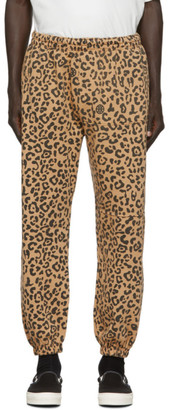 Vyner Articles Tan Leopard Chaos Lounge Pants