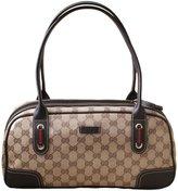 Gucci Crystal Princy Boston Bag Handbag 293594