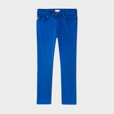 Paul Smith Boys' 7+ Years Blue Stretch-Denim Jeans