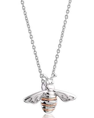 Clogau Silver & Gold Honey Bee Pendant