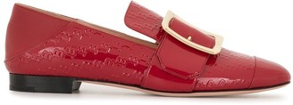 Bally Logo-Embossed Loafers