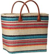 Athleta Structured Straw Tote