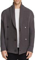 Vince Double Breasted Shawl Collar Cardigan Sweater