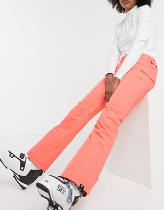 Roxy Backyard snow pants in living coral