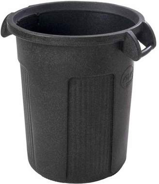 Toter 32 Gal. Atlas Round Trash Can - Dark Gray