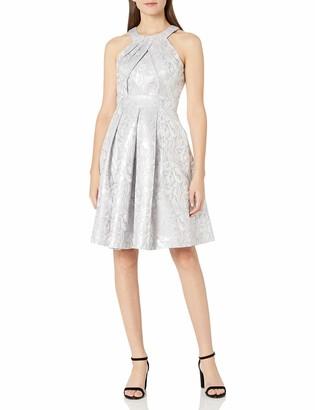 Brinker & Eliza Women's Halter Midi-Length Party Dress