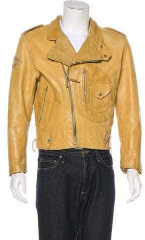 Diesel Leather Moto Jacket