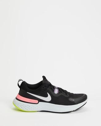 Nike Women's Black Running - React Miler - Women's - Size 6 at The Iconic
