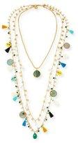 Tory Burch Three-Strand Layering Necklace