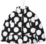 MSGM polka dot pattern puffer jacket