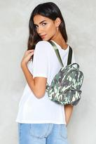 Nasty Gal WANT Army of One Mini Backpack