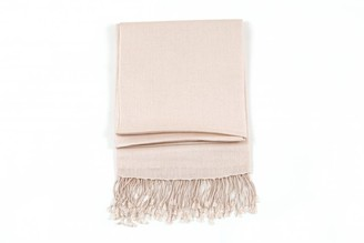 Ritz Collection Womens Pashmina Silk Shawl/Scarf (Ivory)