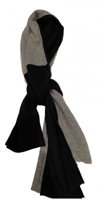 Louis Vuitton Black Wool Scarves & pocket squares