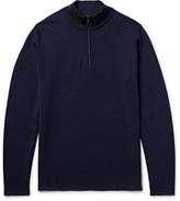 NN07 - Levi Wool Half-Zip Sweater
