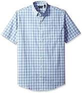 Van Heusen Men's Big and Tall Flex Stretch Short Sleeve Non Iron Shirt