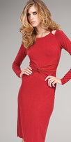 Twisted Waist Knit Dresses by ecoSkin