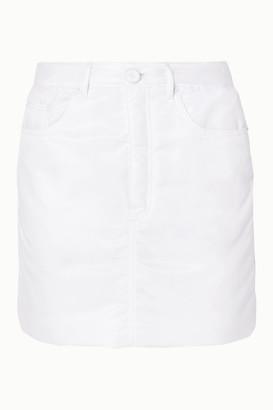 MM6 MAISON MARGIELA Padded Shell Mini Skirt - White