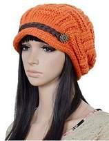 ArRord® Women Knit Snow Hat Winter Snowboarding Beanie Crochet Cap
