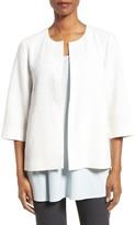 Eileen Fisher Women's Organic Cotton Blend Round Neck Jacket