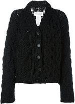 Maison Margiela chunky knit cardigan - women - Polyamide - S