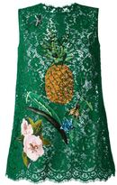 Dolce & Gabbana sequinned lace top