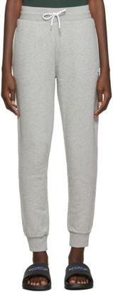 MAISON KITSUNÉ Grey Tricolor Fox Lounge Pants