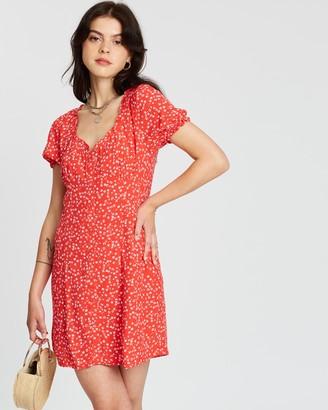 Something Floral Mini Dress