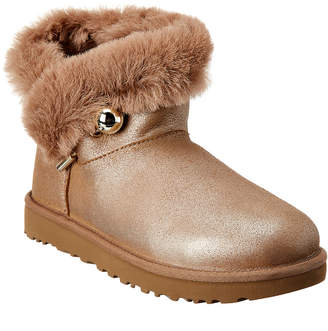 UGG Women's Classic Fluff Pin Suede Bootie