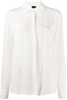 Pinko chest pocket blouse