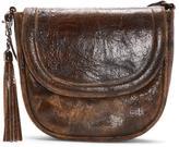 Donald J Pliner Women's ASHLEY - Crackled Calf Leather Cross-Body