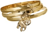Crazy 8 Charm Bangles 3-Pack