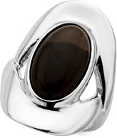 Nambe Smoky Quartz (7-1/2 ct. t.w.) Oval Ring in Sterling Silver