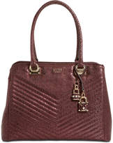 GUESS Halley Small Girlfriend Signature Satchel