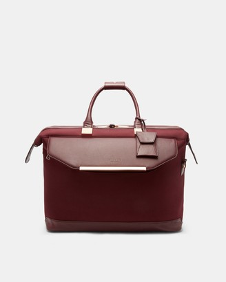 Ted Baker LUGSII Metallic trim small holdall