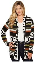 Pendleton Desert Stripe Cardigan Women's Sweater