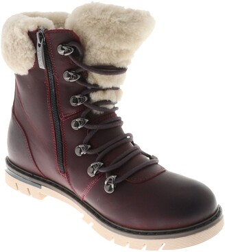 Royal Canadian Stratford Genuine Shearling Cuff Waterproof Boot